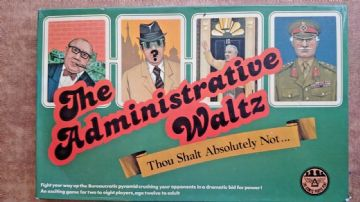 The Administrative Waltz Board Game 1979